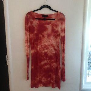 Isabel marant tie dyed dress